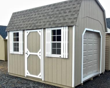 10x12 Gambrel Storage Shed