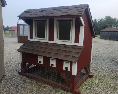 4x6 Mini Chicken Coop